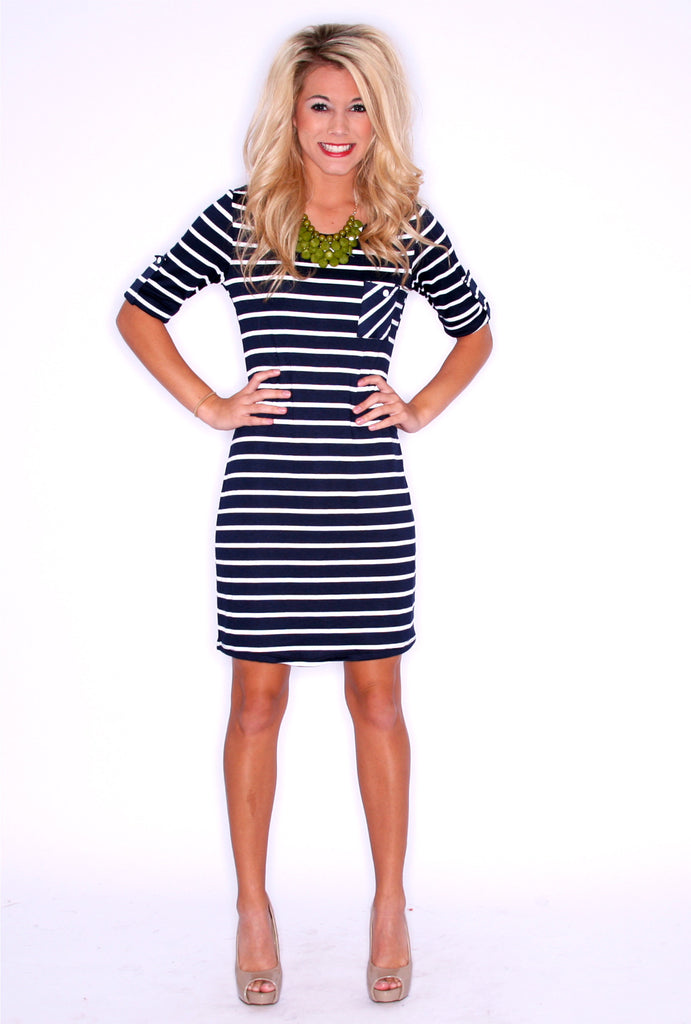 Model Stripe Navy