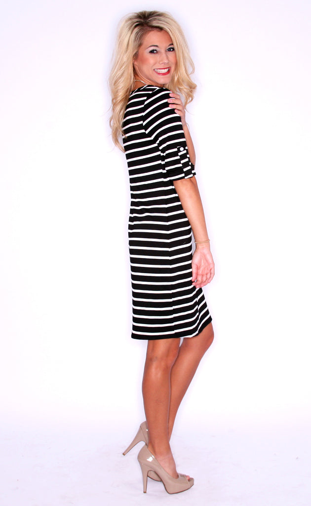 Model Stripe Black