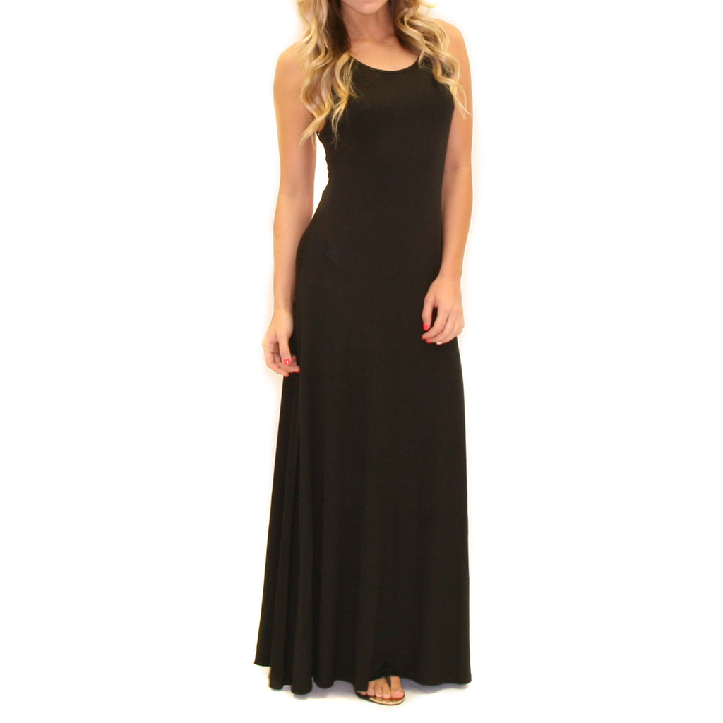 Meet Me In Morocco Maxi Black