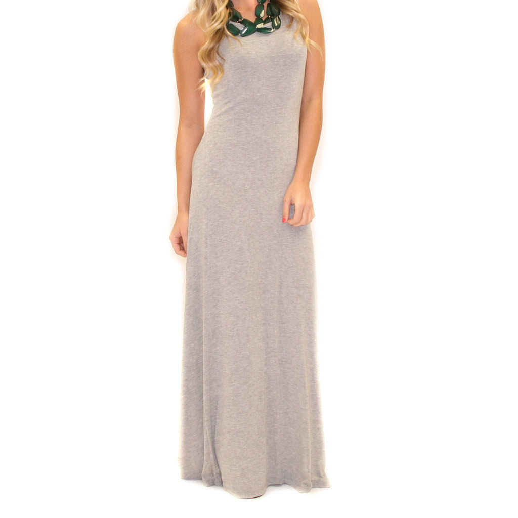 Meet Me In Morocco Maxi Heather Grey