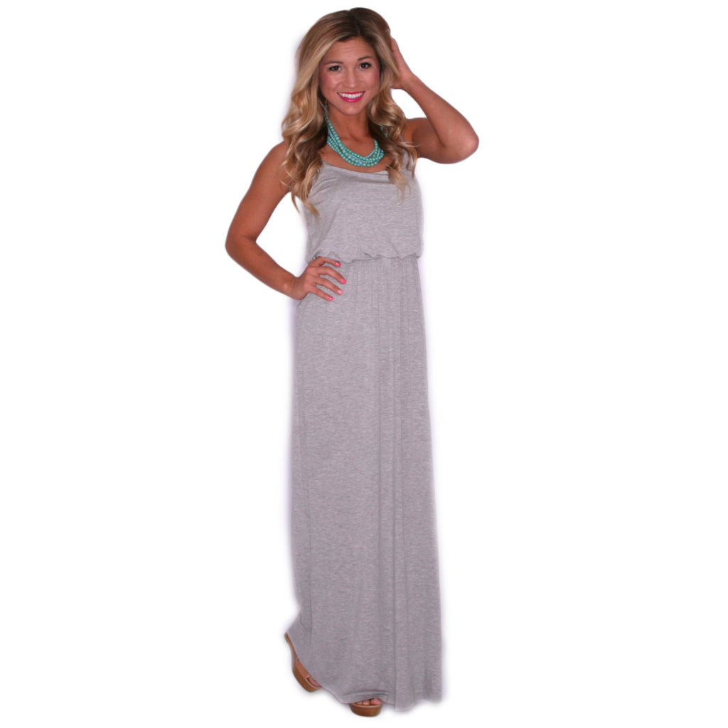 My Favorite Maxi in Heather Grey