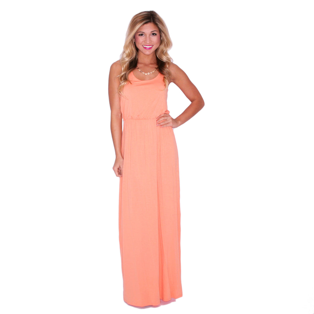 On Cloud Nine Maxi Apricot