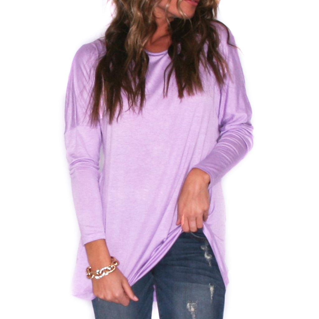 Novel Tee Lavender