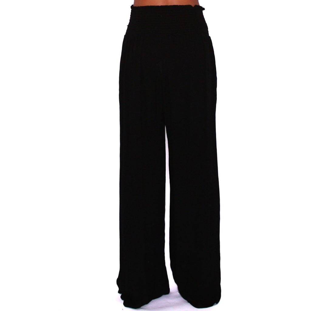 Ocean Tide Pants in Black