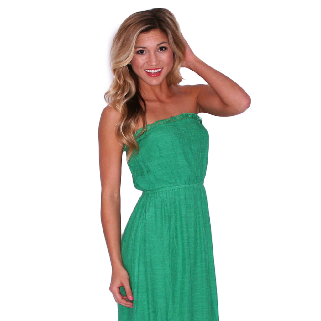 Palm Beach Party Maxi in Green