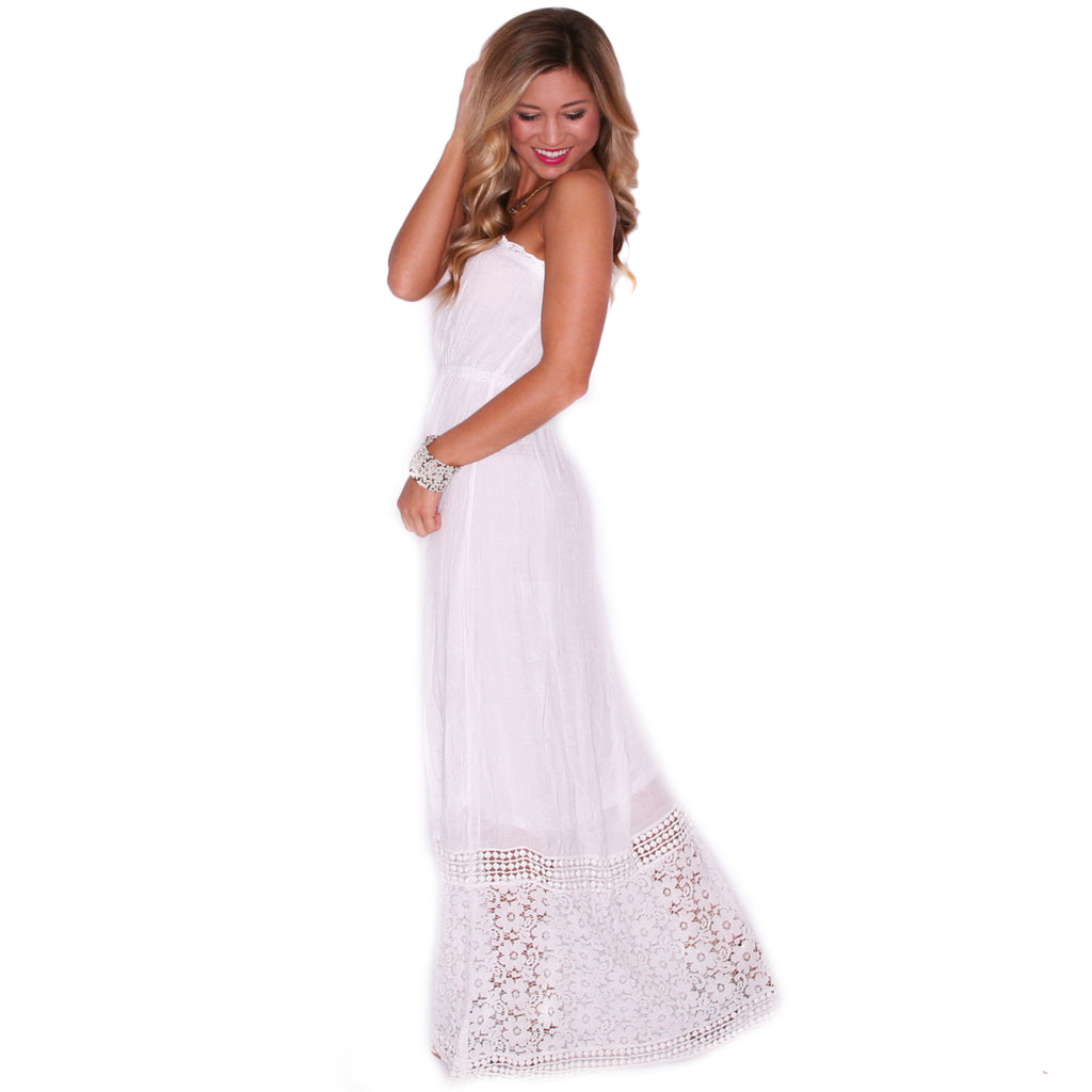 Palm Beach Party Maxi in Ivory