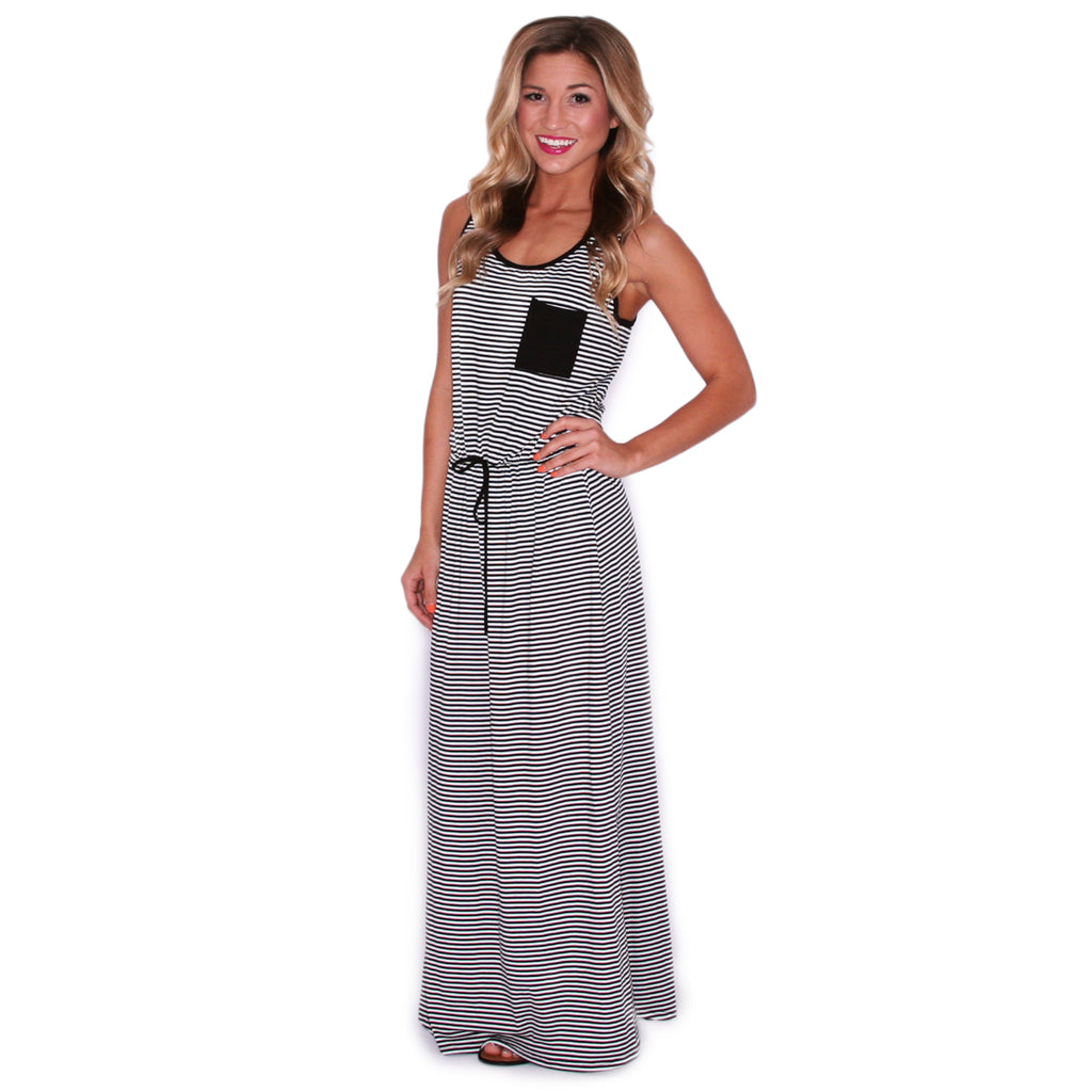 Pardon My Pocket Maxi in Black