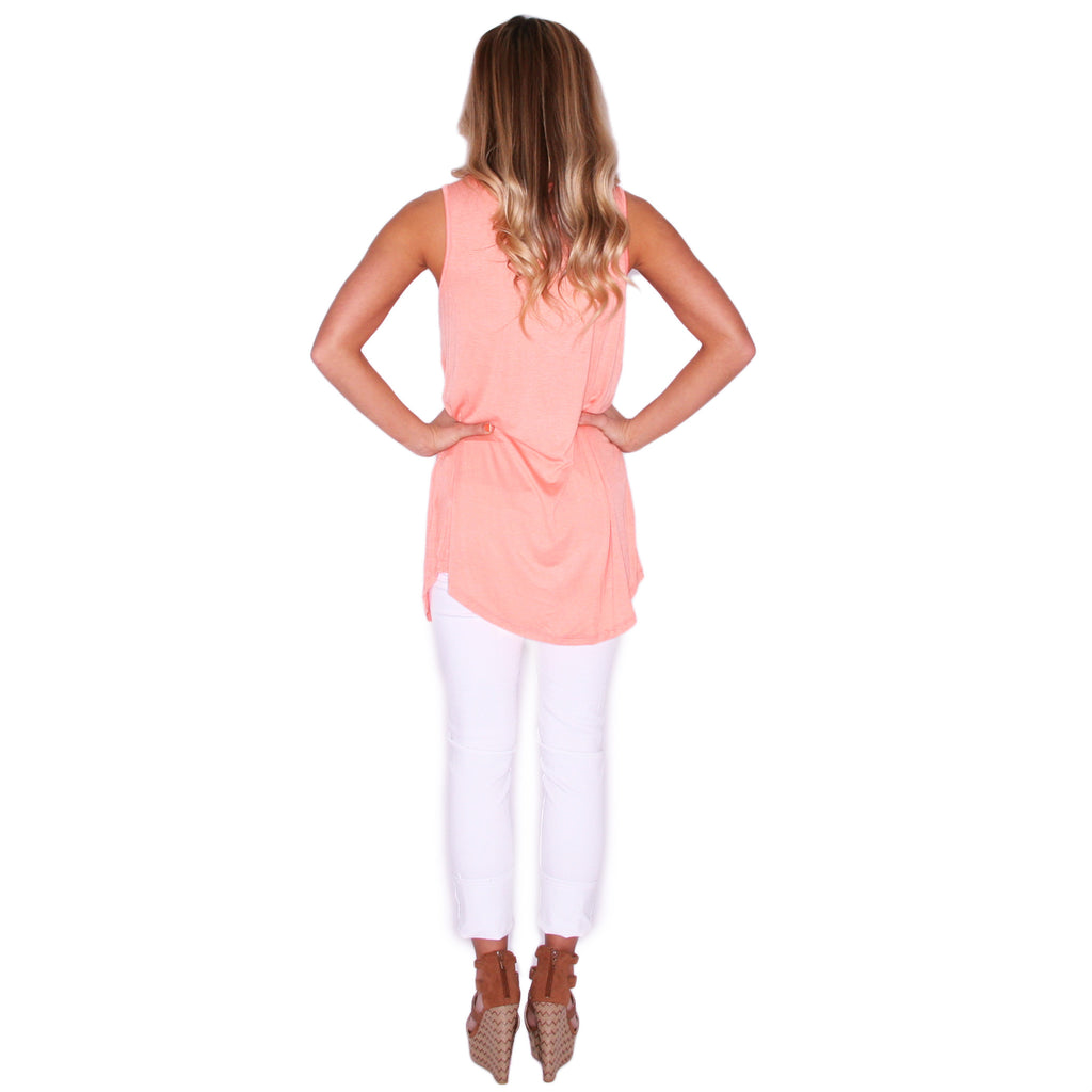Pardon My Pocket Tank in Peach