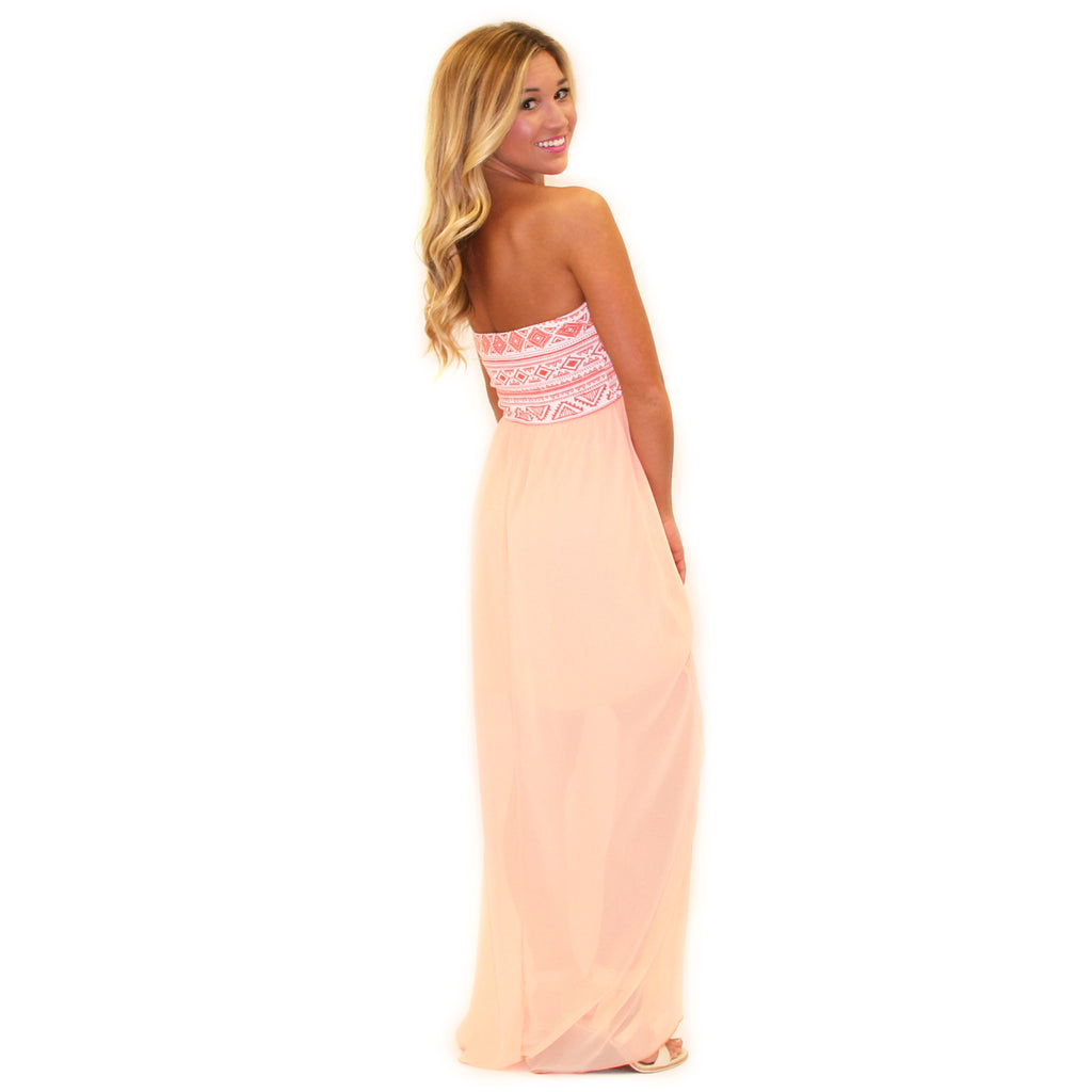 Paris Sights Maxi Orange