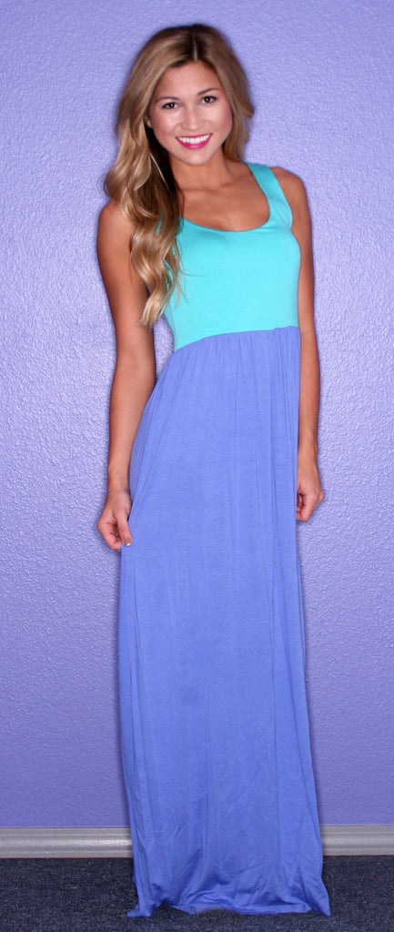 Party in the Hills Maxi Purple