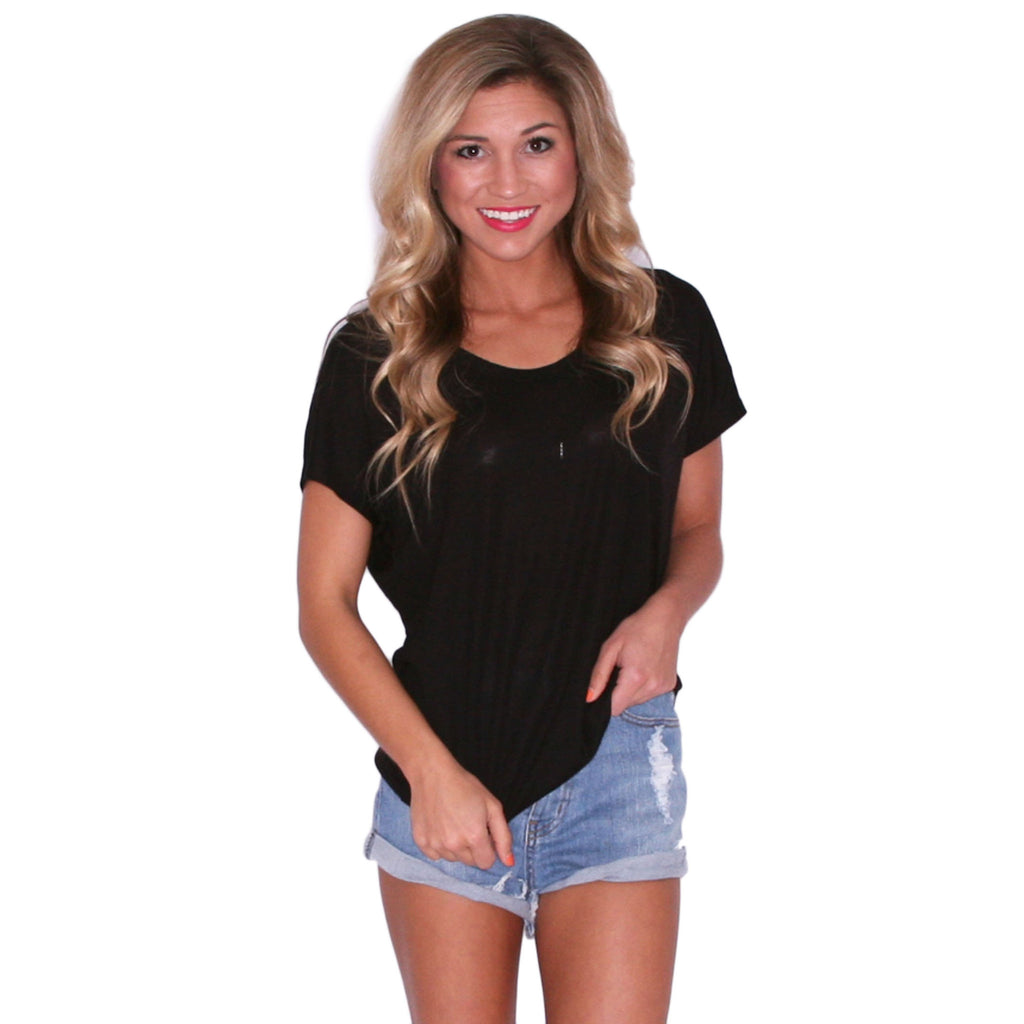 Patio Party Tee Black
