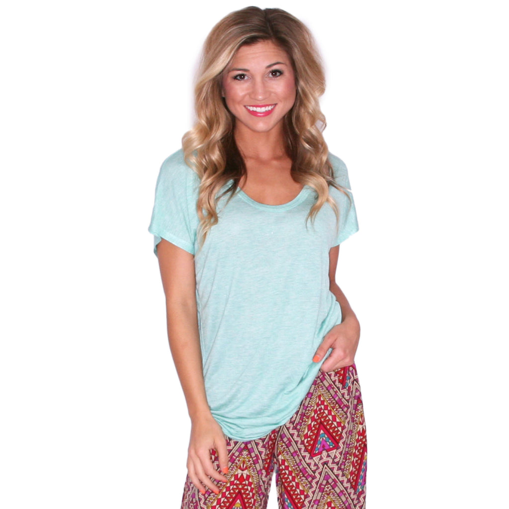 Patio Party Tee Mint