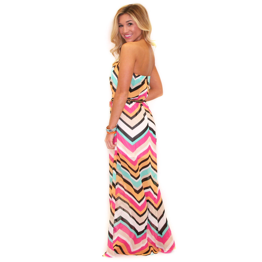 Patio Sipping Maxi in Pink