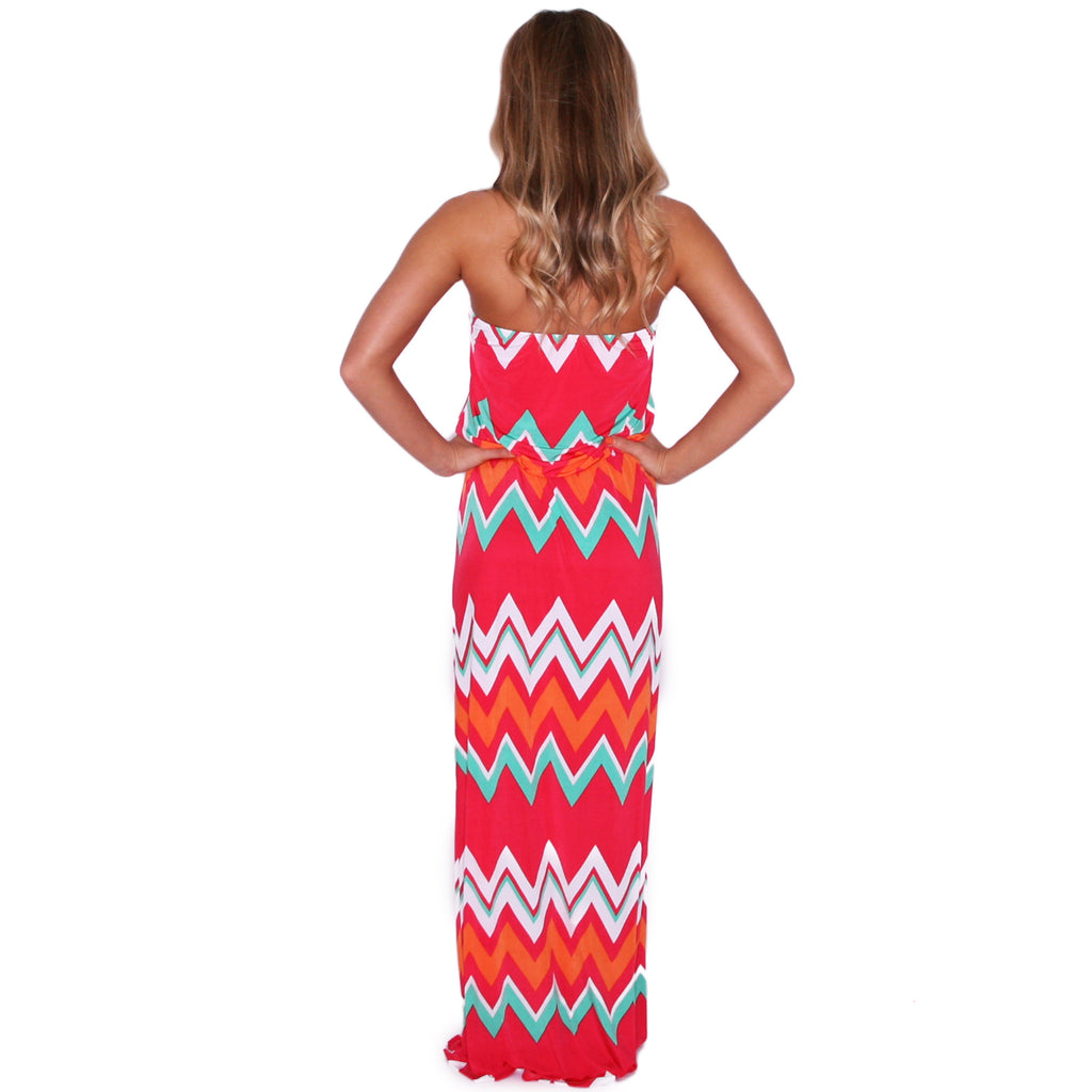 Patio Weather Maxi in Red