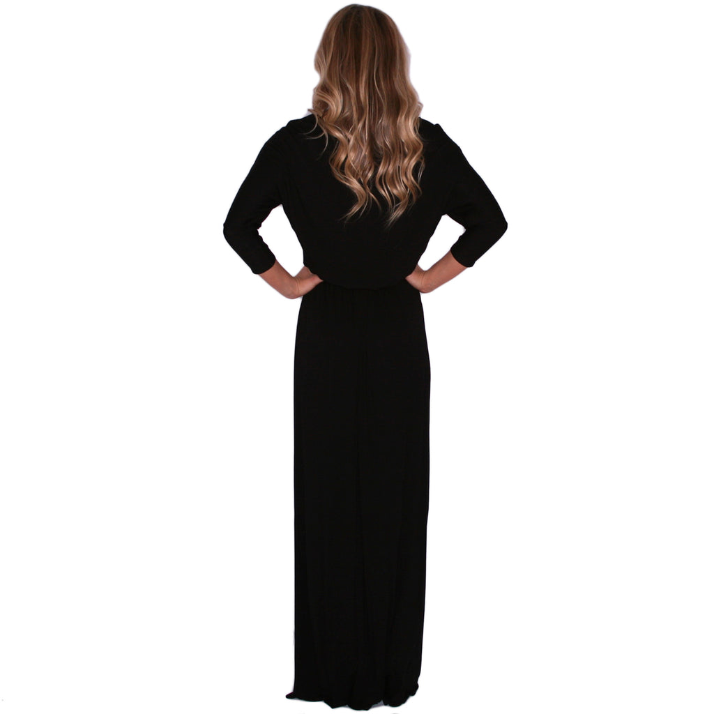 Perfect Fit Maxi in Black