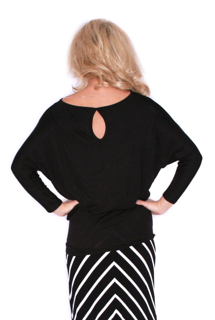 Perfect Fit Tunic Black
