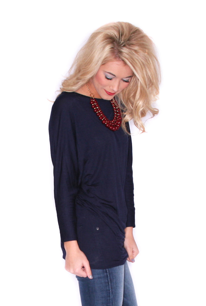 Perfect Fit Tunic Navy