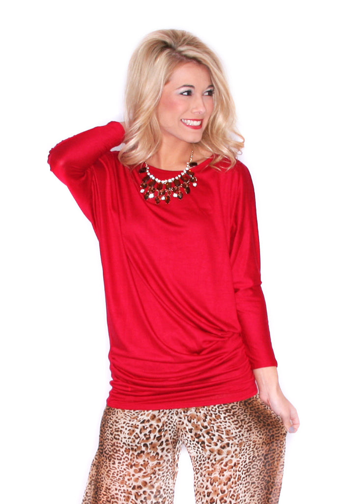Perfect Fit Tunic Red