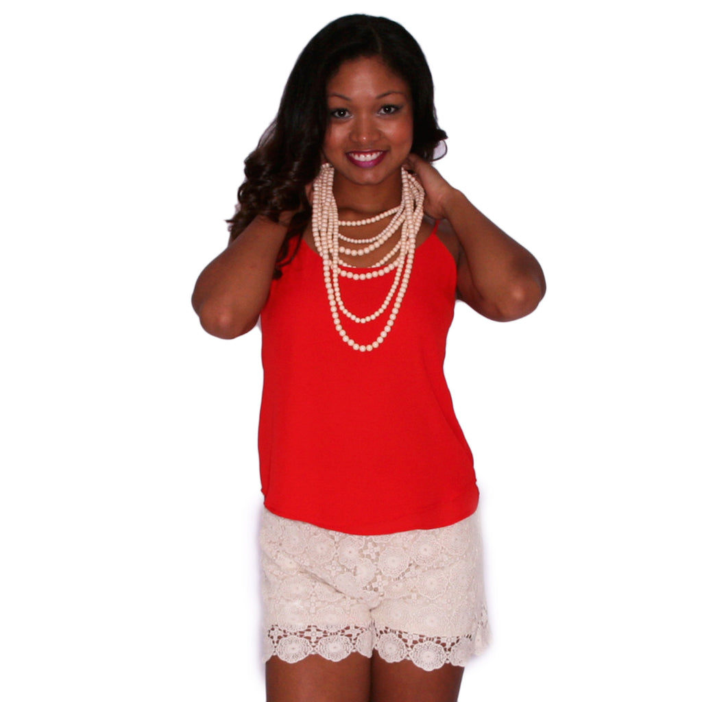 Perfect Go To Tank in Red