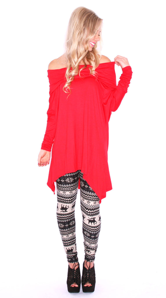 Perfection Tunic Red