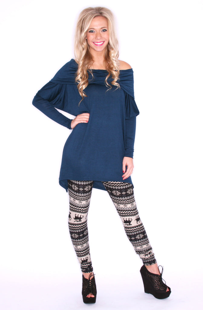 Perfection Tunic Teal