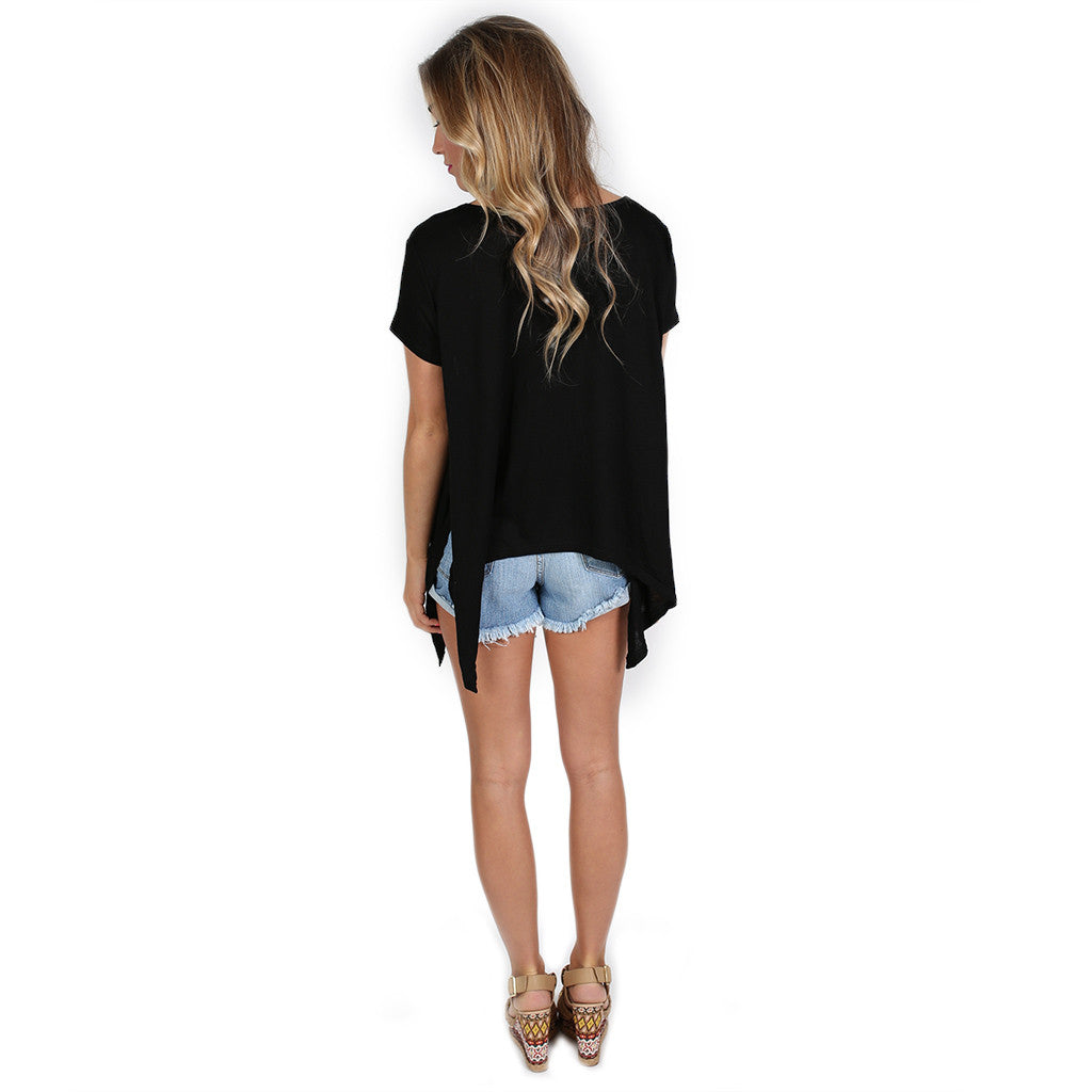 Perfect Little Tee Black