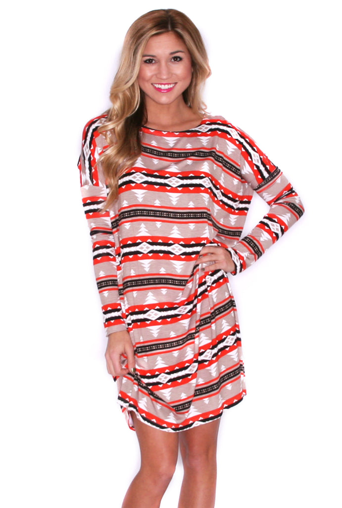 Perfect Little Tunic in Aztec