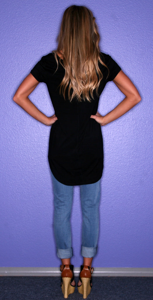 Perfectly Chic Tee Black