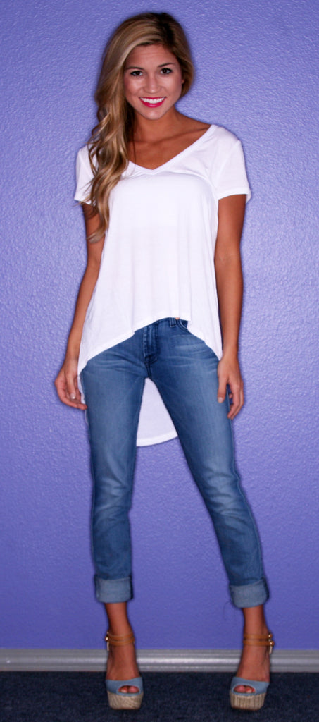 Perfectly Chic Tee White