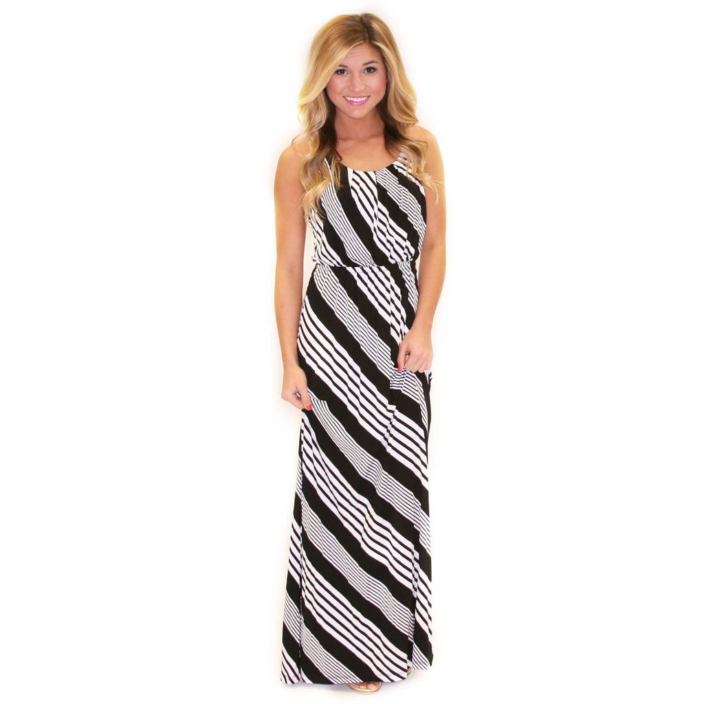 Perfectly Striped Maxi