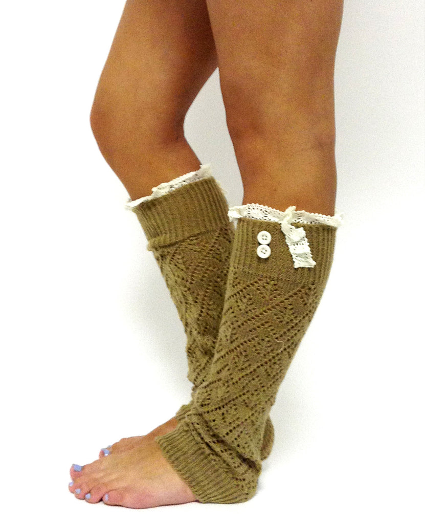 The Lacey Lou Legwarmer Gold