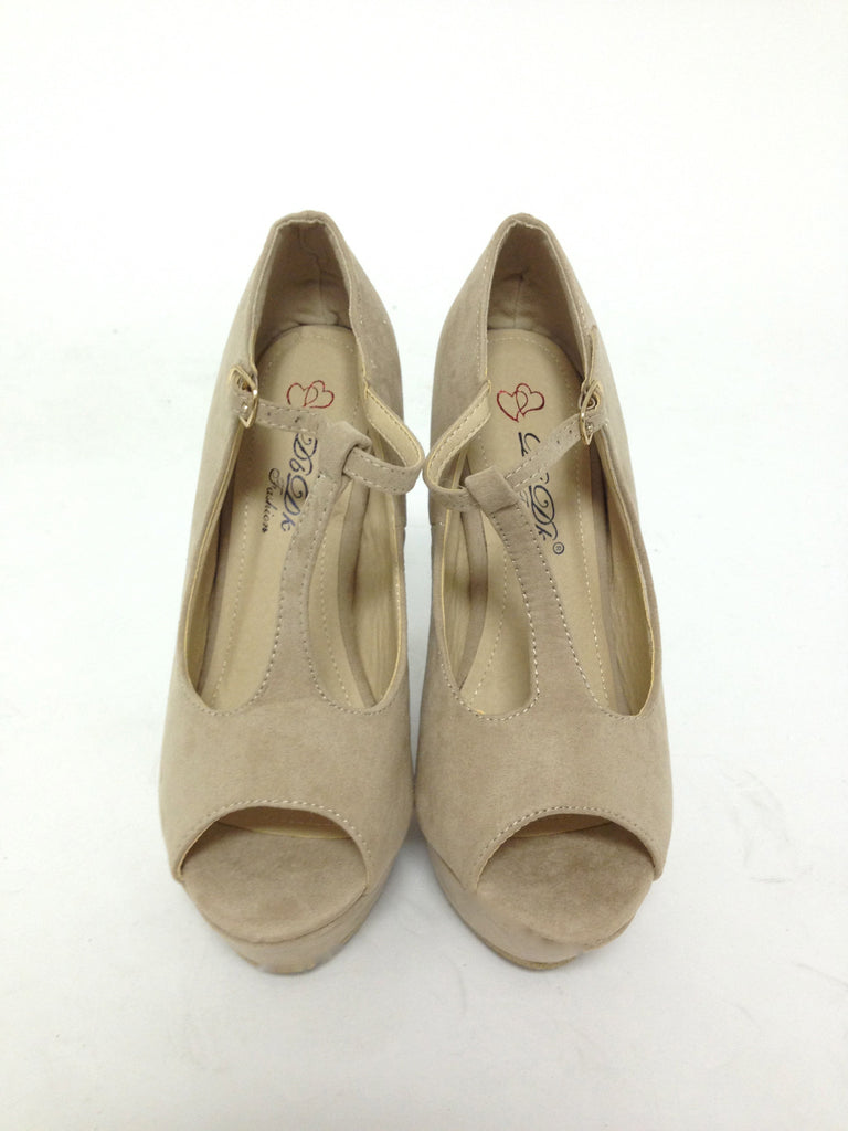 See & Be Seen Wedge Nude