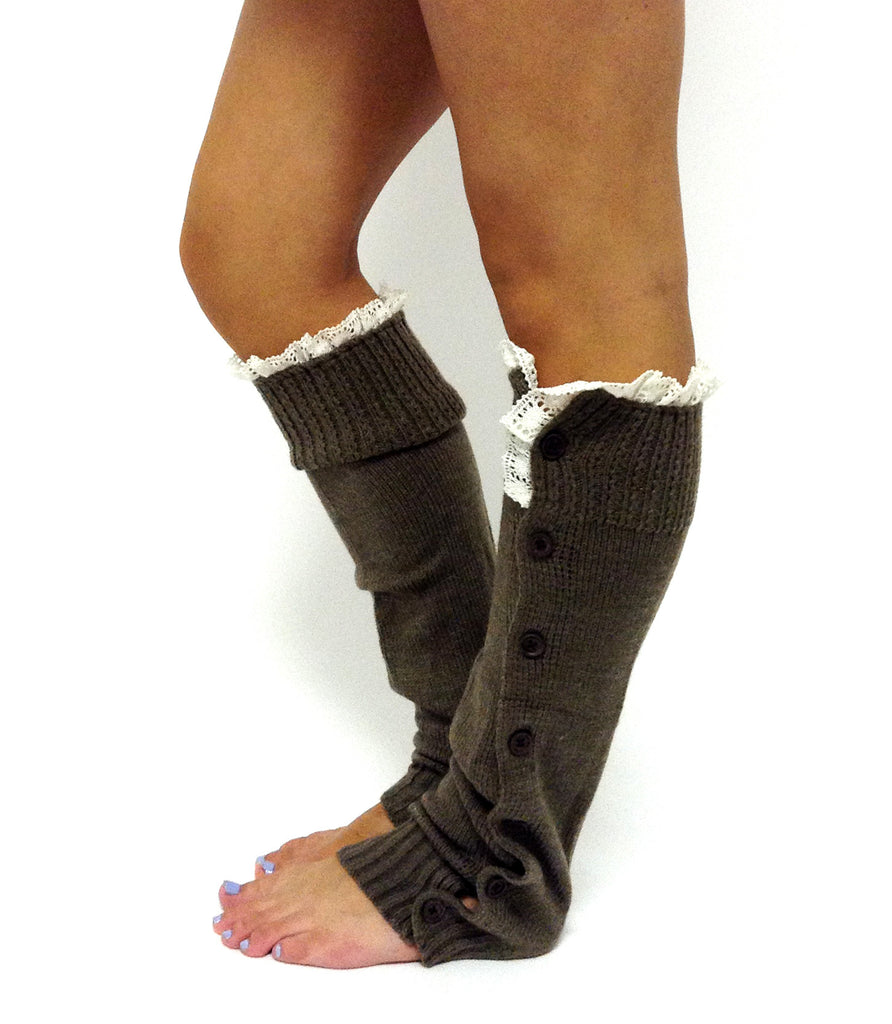 Miss Mollys Legwarmer Brown