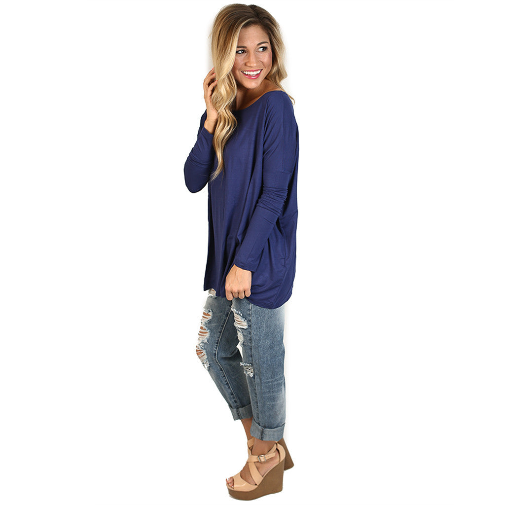 PIKO Tee in Dark Blue