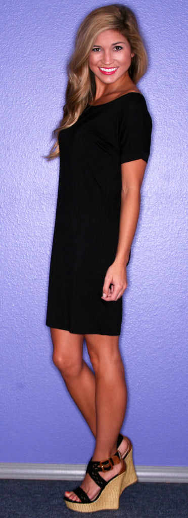 PIKO Tee Dress in Black