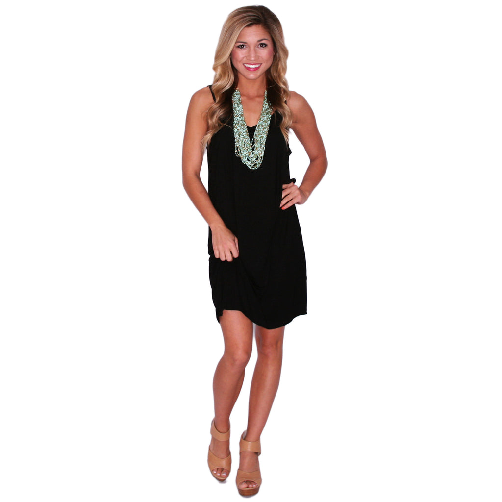 PIKO Tank Dress in Black