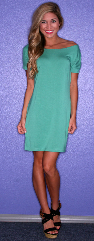PIKO Tee Dress in Green