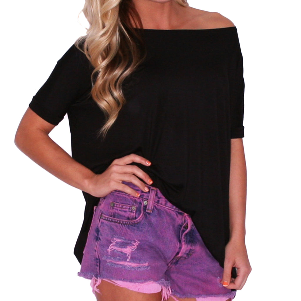 Piko Short Sleeve in Black
