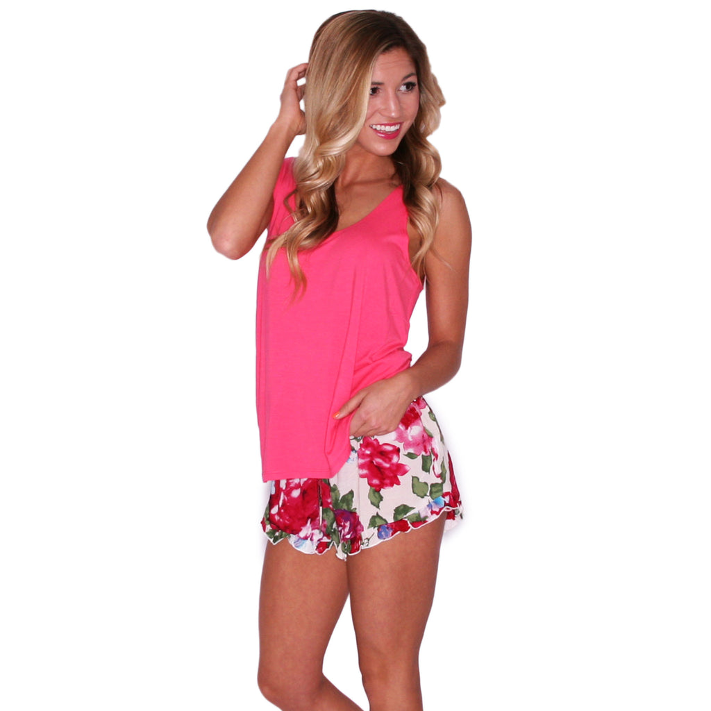 PIKO Tank in Hot Pink
