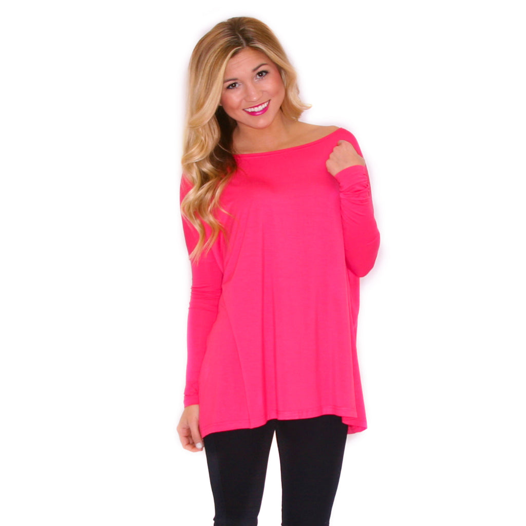PIKO Tee in Coral