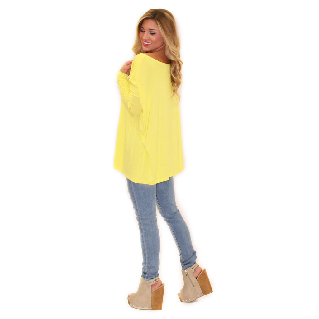 PIKO Tee in Lemon