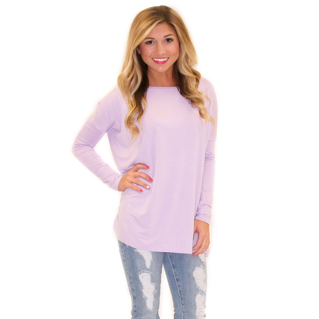 PIKO Tee in Light Purple