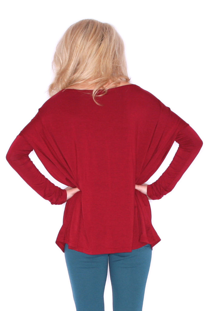 PIKO Tee in Wine