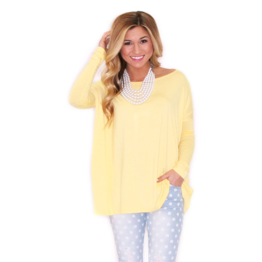 PIKO Tee in Yellow