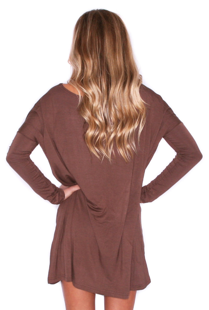 PIKO Tunic in Chocolate