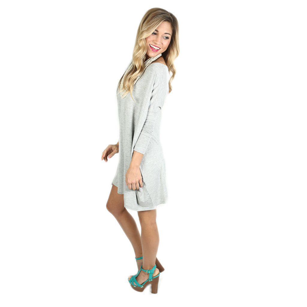 PIKO Tunic in Heather Grey