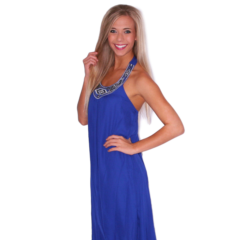 If You Like Pina Coladas Maxi in Blue