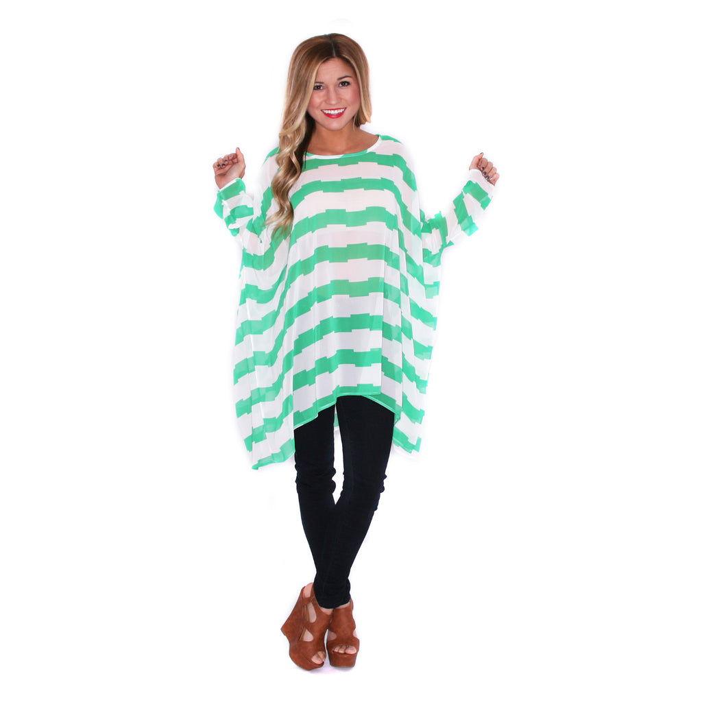 Play Date Tunic Green