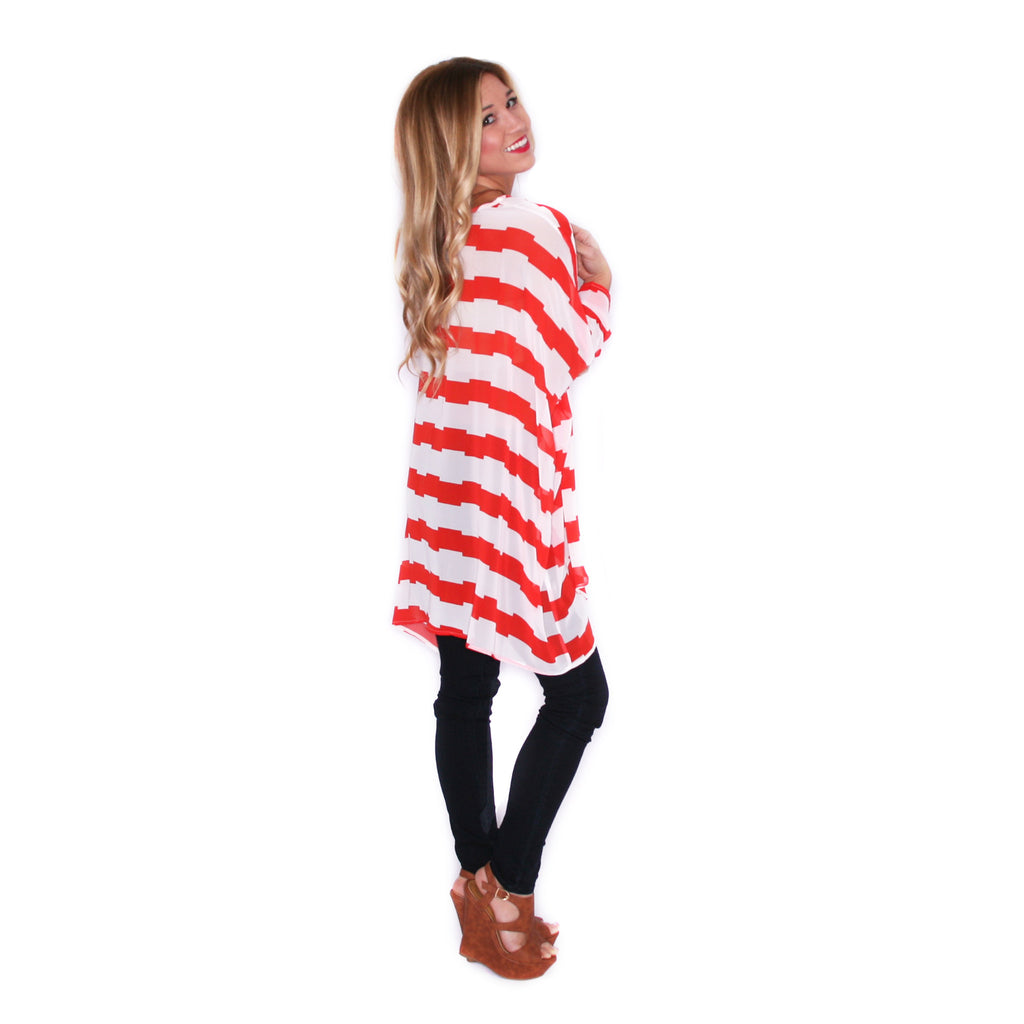 Play Date Tunic in Red