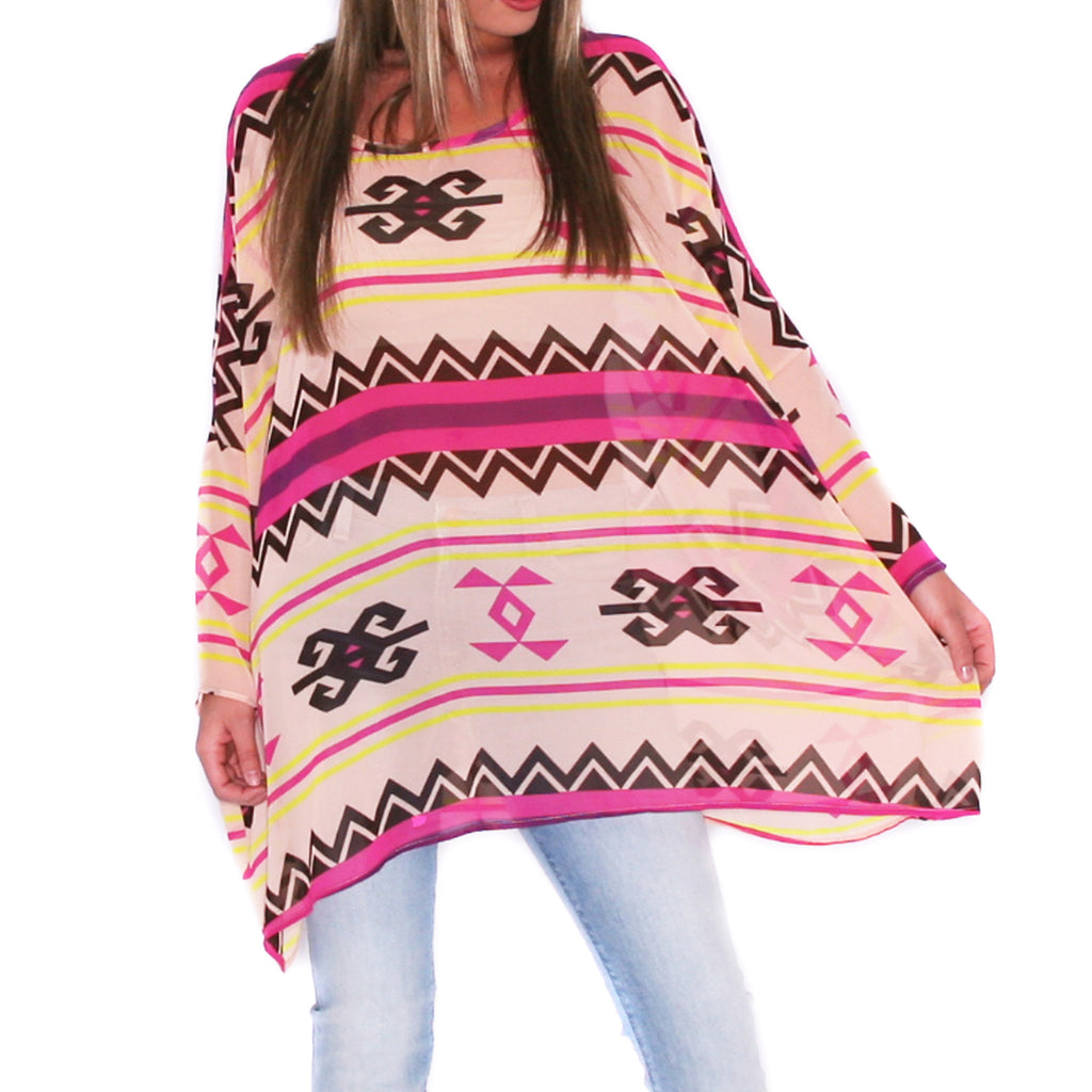 Play Date Tunic in Aztec
